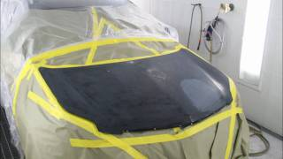 Painting Car Hood Time Lapse