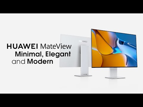 Introducing The New HUAWEI MateView
