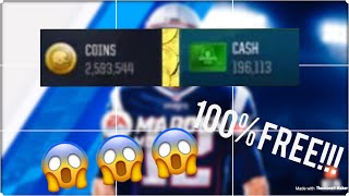 MADDEN OVERDRIVE HACK!!! FREE CASH AND COINS!!!