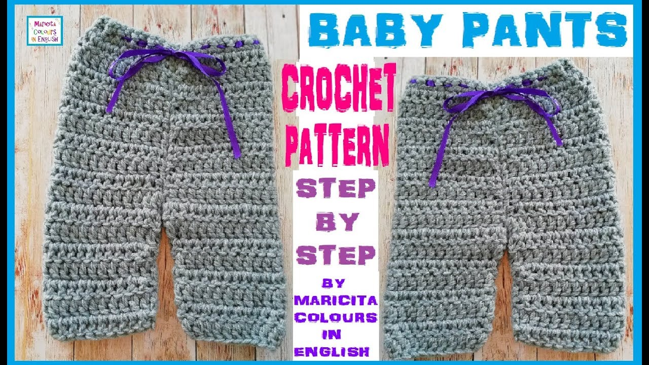 Baby Pants Maricita All The Sizes Crochet Pattern Free By Maricita