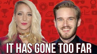PewDiePie Is MAD That Jenna Marbles Has Been Cancelled!