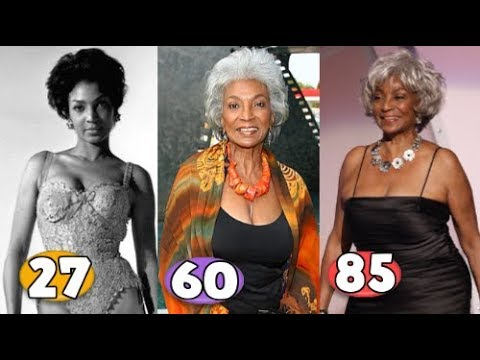 Nichelle Nichols ♕ Transformation From 15 To 85 Years OLD