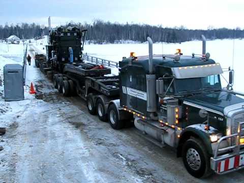 Transport Chainé inc. - Heavy haul / Transport spécialisé - Hydro-Québec Rapide-Sept