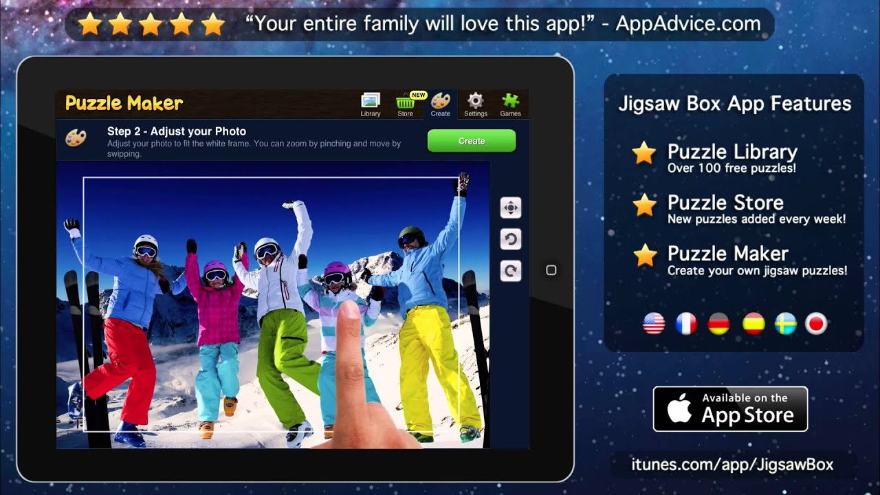 Jigsaw Box The Best Puzzle For Your Ipad