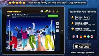 Jigsaw Box - the best Jigsaw puzzle app for your iPad!