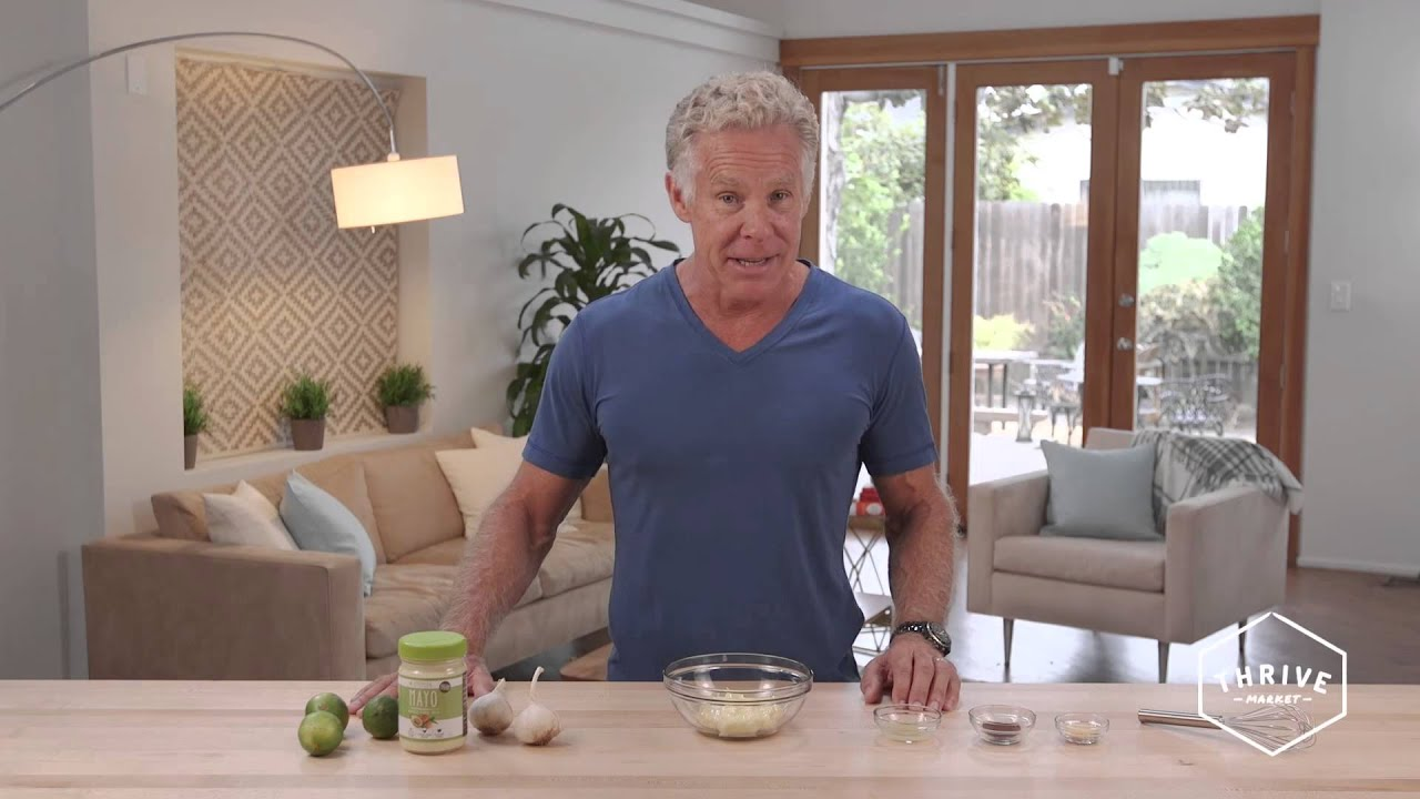Mark Sisson 2015 Mark Sisson's Paleo Chipotle Mayo Recipe  Youtube