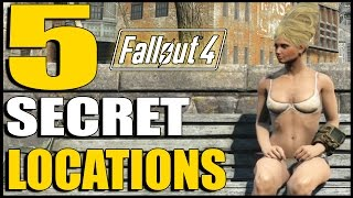 Fallout 4 5 Secret Locations with Secret Loot Ep. 9 Fallout 4 Secrets