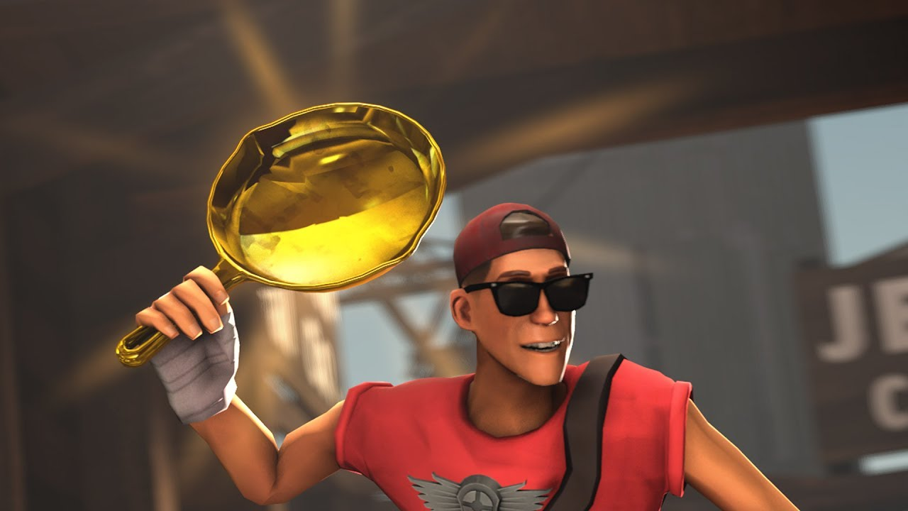 Tf2 Getting My 4th Golden Frying Pan Most Insane Trade In History Youtube
