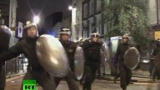 London Street Battles: Video of mad clashes, riots out of control