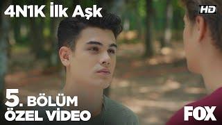 Barış ve Ali yarışma için iddiaya girerse! 4N1K İlk Aşk 5. Bölüm