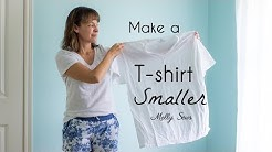 How to Make a T-shirt Smaller