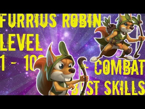 Monster Legends   Furrius Robin   Level 1 to 100   Mercenary Island
