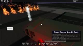 Roblox san Antonio aeropuerto enorme incendio