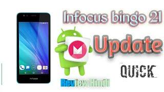 Infocus Bingo 21 (m430) Android 6.0 quick review