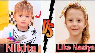 Nikita *VS* Like Nastya || Lifestyle Comparison 2020 || MG TV