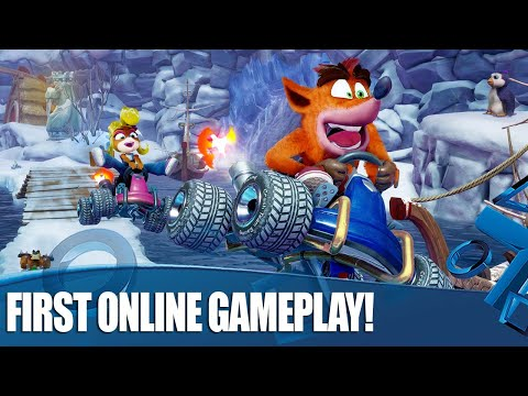 Crash Team Racing Nitro-Fueled - Online Multiplayer Gameplay