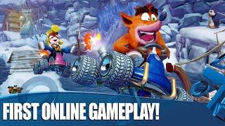 Crash Team Racing Nitro-Fueled - Online Multiplayer Gameplay