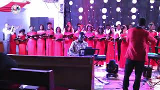 Oskidi hornz performs with divine chorale Ghana