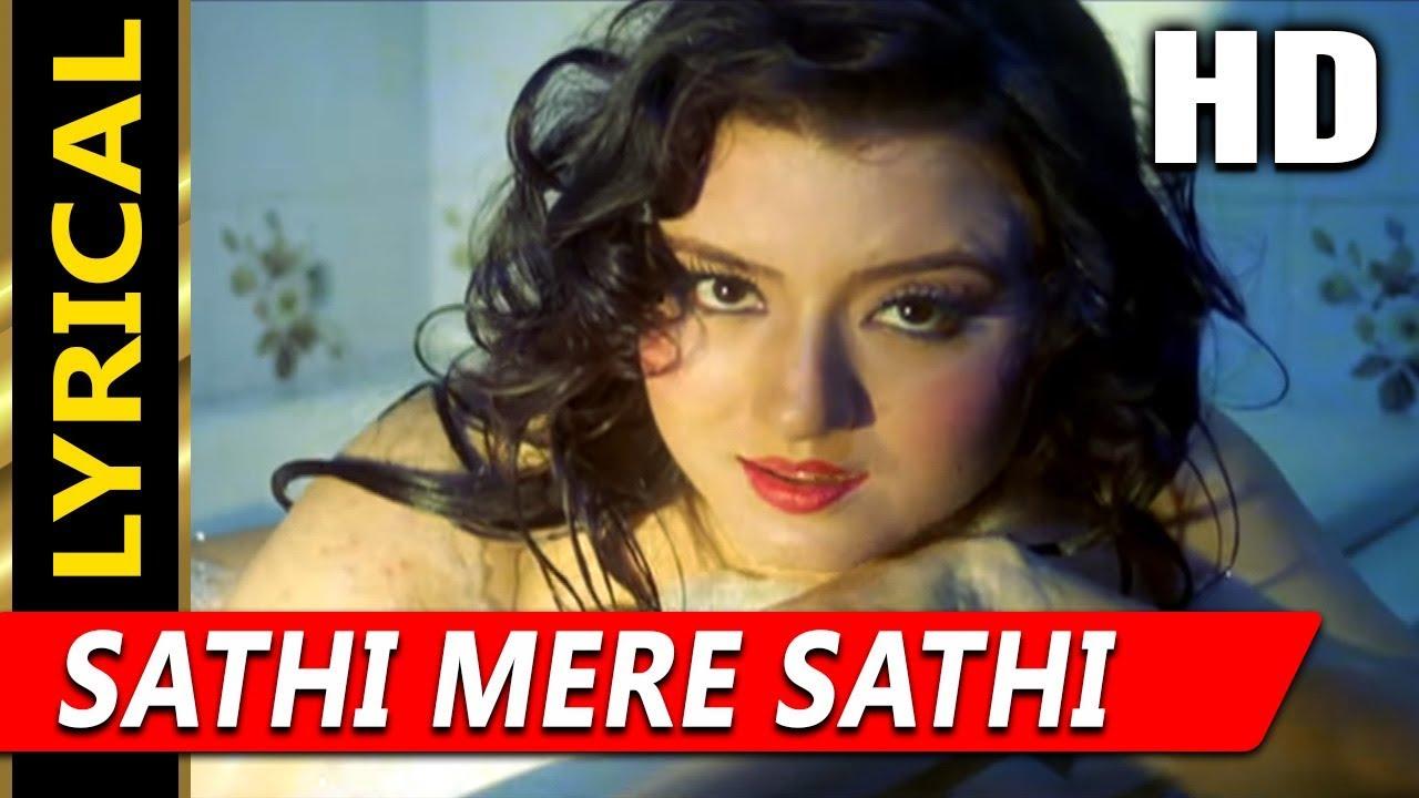 Download Sathi Mere Sathi (I) With Lyrics   Kavita Krishnamurthy   Veerana 1988 Songs   Jasmin