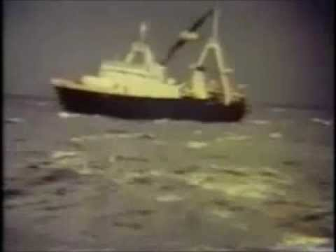Dedicated to the crew of the hull stern trawler GAUL H243 lost with all hands 8th February 1974