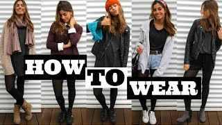 1 dress 5 outfits | HOW TO WEAR