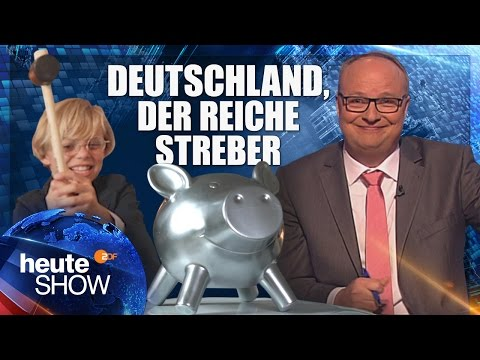 Deutschland ist nicht der Zahlmeister Europas. Sondern der Kredithai. | heute-show vom 19.05.2017