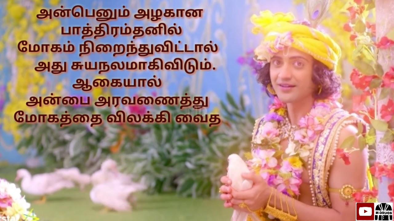 Radha Krishna quotes in Tamil | whatsapp status videos | Motivation Drugs |  MD
