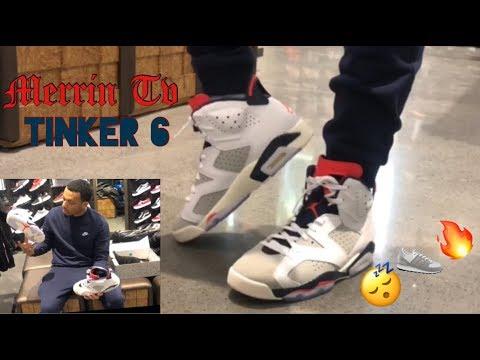 "new concept 6a8c9 addff Jordan 6 ""Tinker"" Review & On Feet | MOST SLEPT ON JORDAN 6?! | MerrinTv"