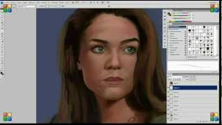 Babylon 5 Susan Ivanova Speed Painting