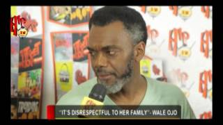 """""""OMOTOLA AND I NEVER MADE LOVE IN THE MOVIE 'ALTER EGO', IT'S FALSE""""- WALE OJO"""