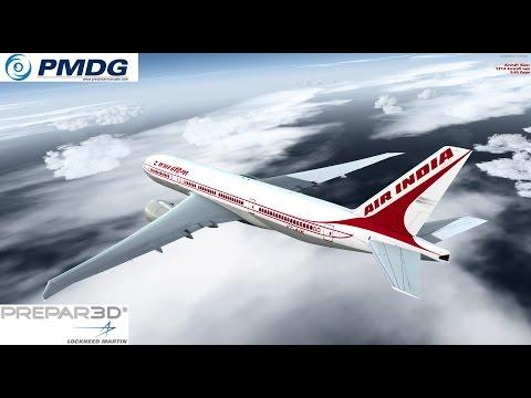 P3D V2.5 PMDG 777 Landing FIMP International Airport of Mauritius [FULLHD]