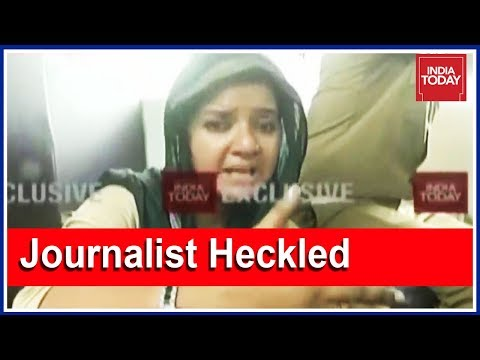 Exclusive| India Today Reporter Heckled, Beaten Inside Bus By Sabarimala Protesters | 5ive Live