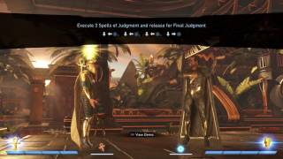 injustice 2 doctor fate basic tutorial