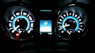 2010 Buick Lacrosse Interior at night