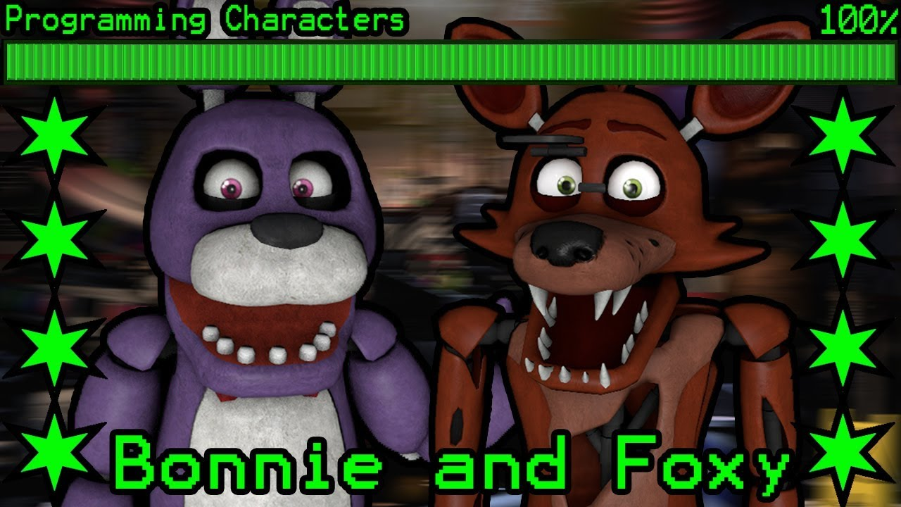 How will Bonnie and Foxy work in Ultimate Custom Night?