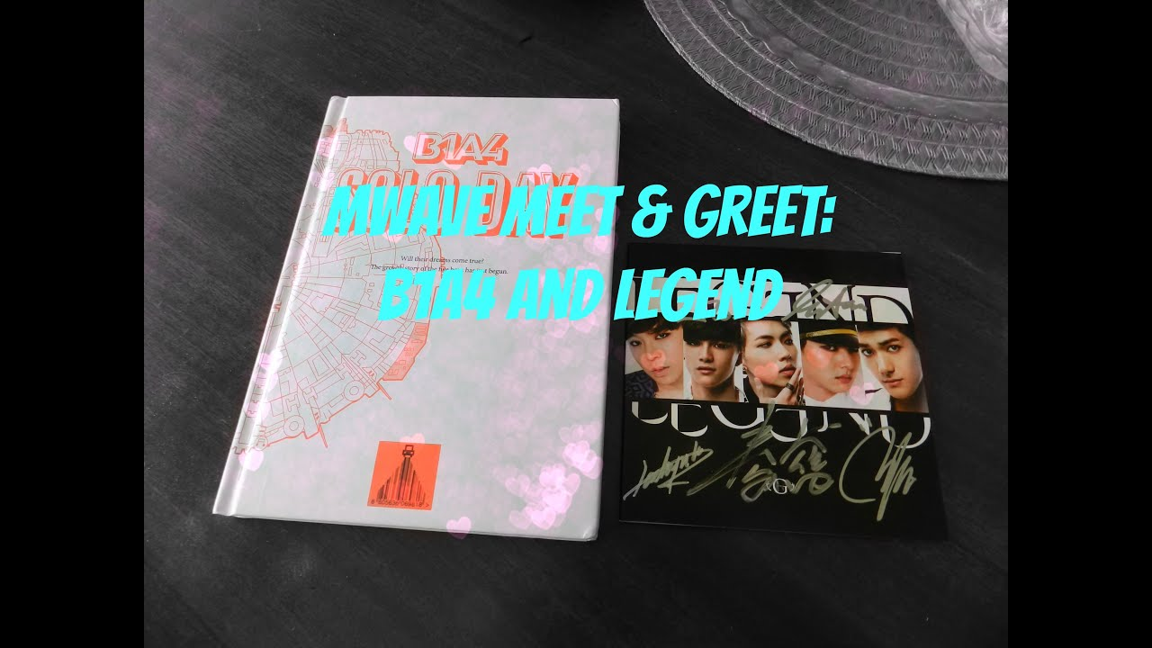 Mwave meet and greet b1a4 legend unboxing youtube mwave meet and greet b1a4 legend unboxing kristyandbryce Image collections