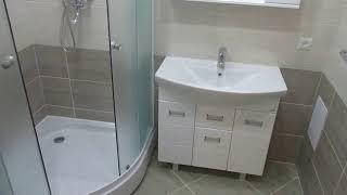 Обзор ванной комнаты и туалета!г.Брянск