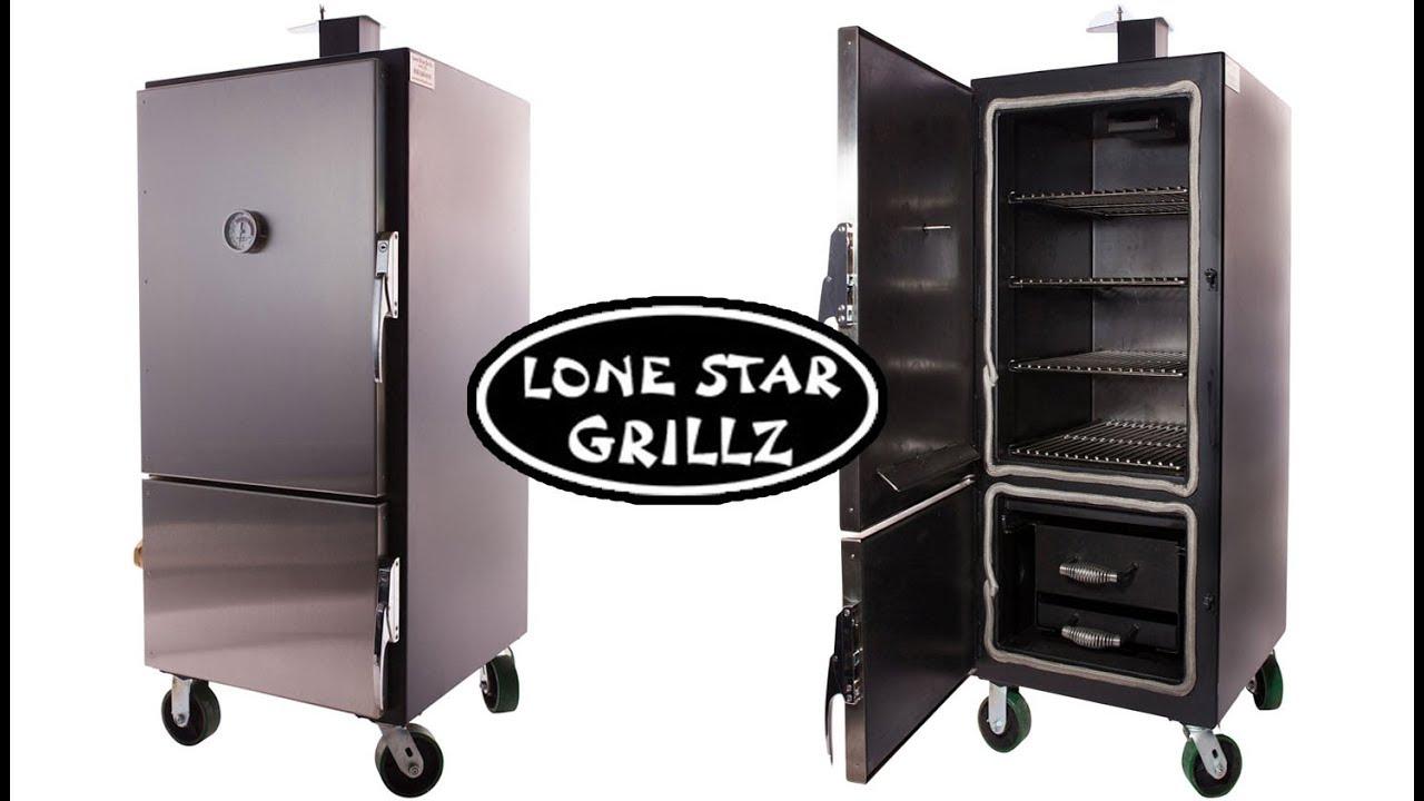 Lone Star Grillz Mini Insulated Cabinet Smoker Water