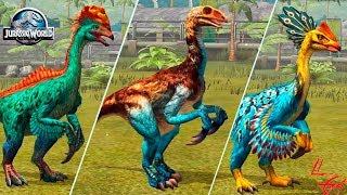 Теризинозавриды Jurassic World The Game