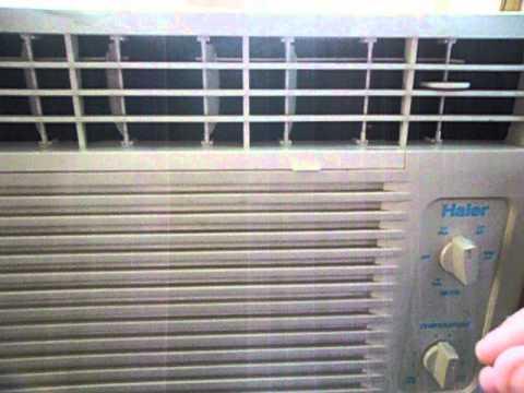 Aire acondicionado haier 5000btu youtube for Aire acondicionado haier