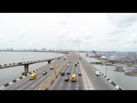 AERIAL VIEW OF THIRD MAINLAND BRIDGE
