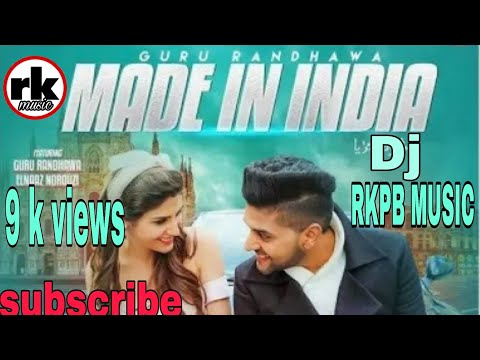 Made In India Lagdi !! Guru Randhawa !! Dj Hard Dholki Mix By Dj Akhil Kushawah Agra U.p
