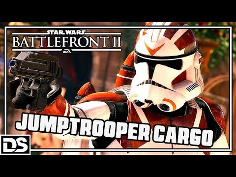 Star Wars Battlefront 2 Deutsch - Jumptrooper Cargo/Fracht Modus (Gameplay German DerSorbus)