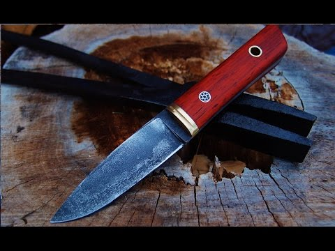 Knifemaking O1 steel, PADUAK