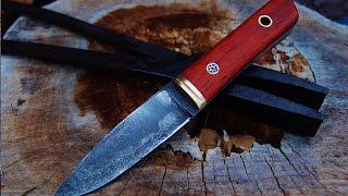 Knifemaking O1 steel, PADUAK
