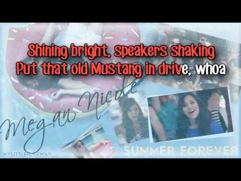 Megan Nicole - Summer Forever Karaoke/ Instrumental