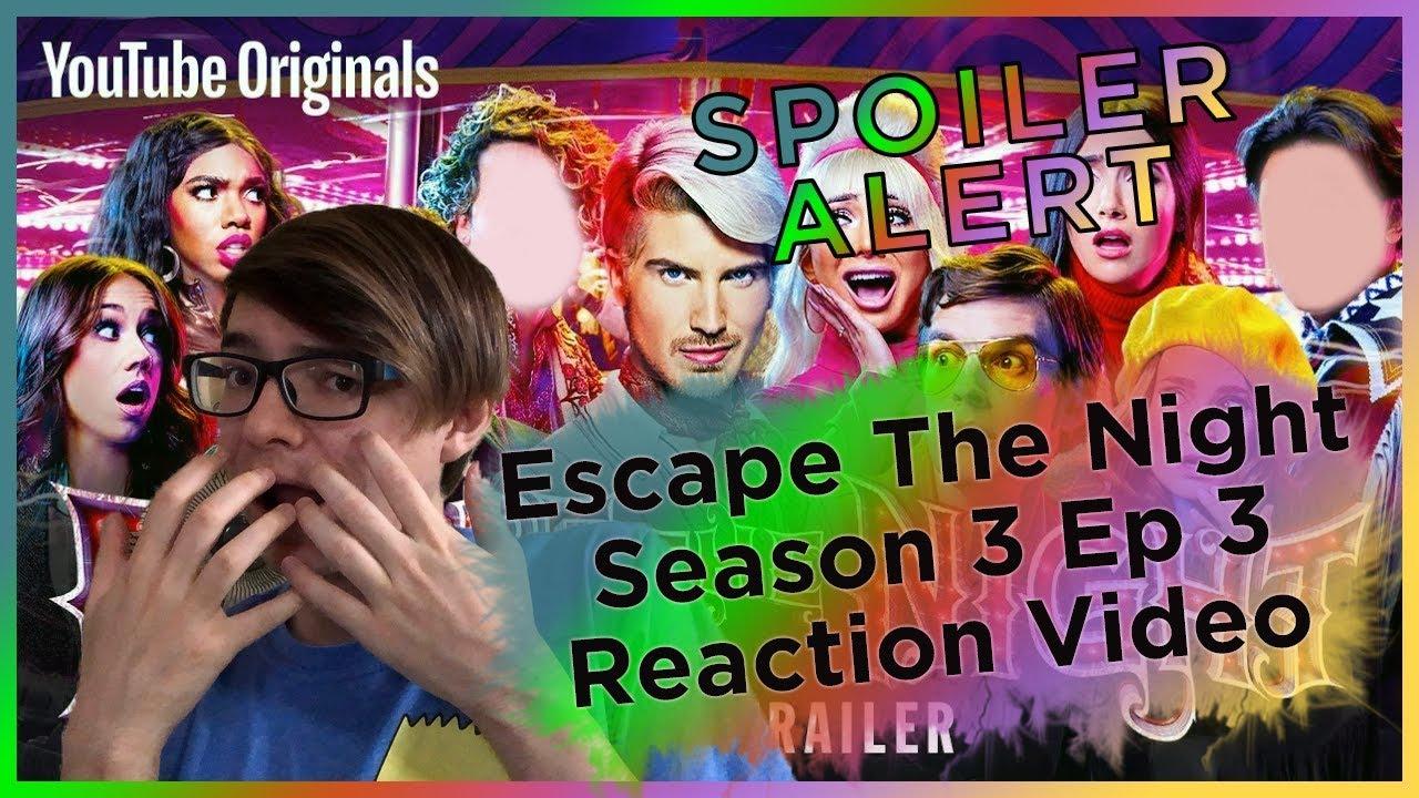 SPOILER ALERT Escape The Night Season 3 Episode 3 REACTION