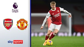 Ödegaard Debüt & Chancen-Festival | FC Arsenal - Manchester United 0:0 | Highlights - Premier League