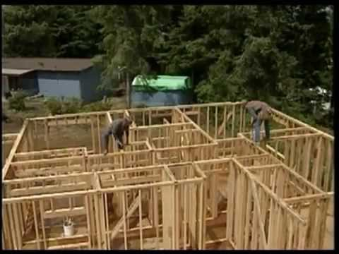 видео: Сборка каркасных стен