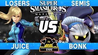 Smash Ultimate Tournament Match - Juice (Zero Suit Samus) vs B…